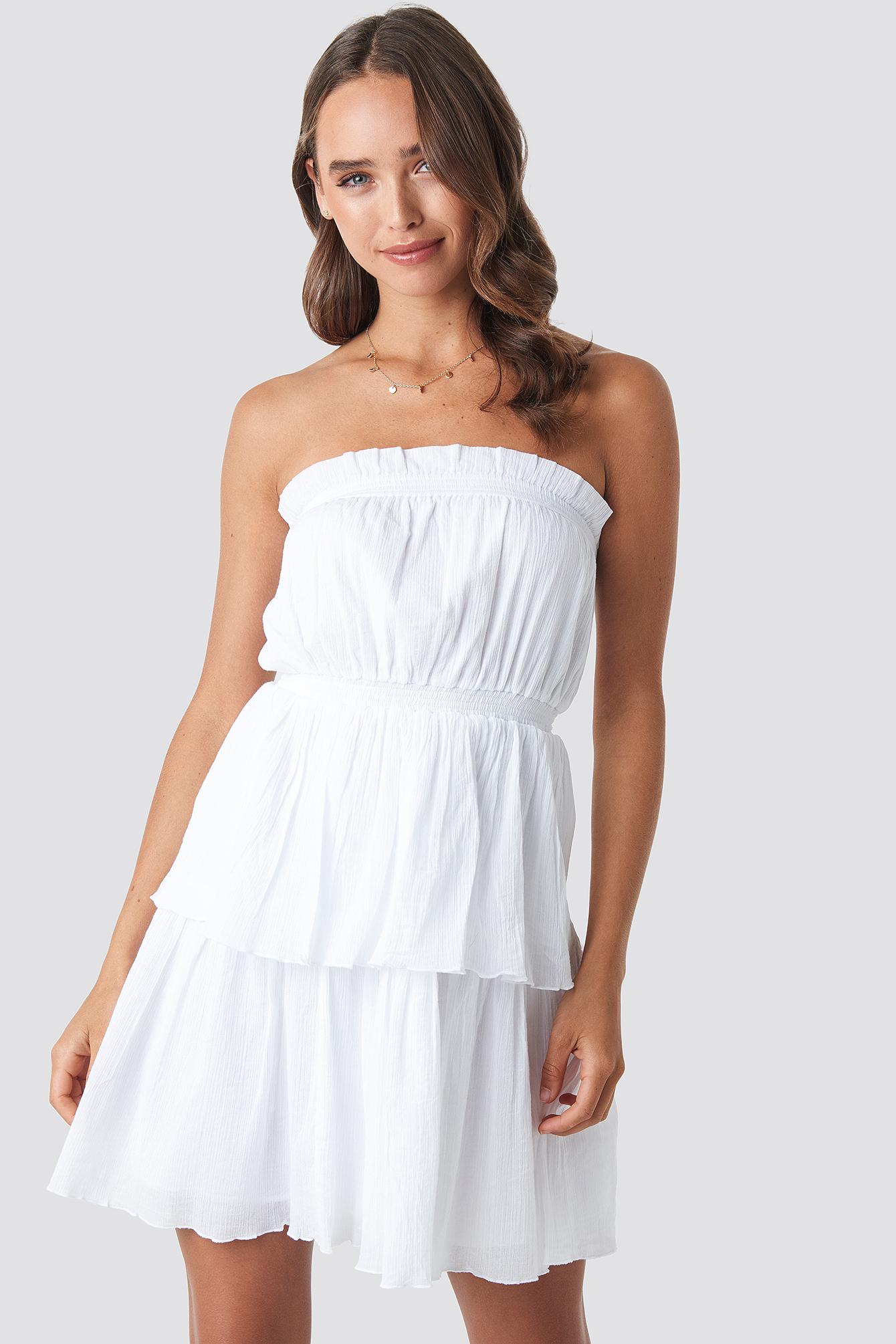 Strapless Mini Dress NA-KD.COM