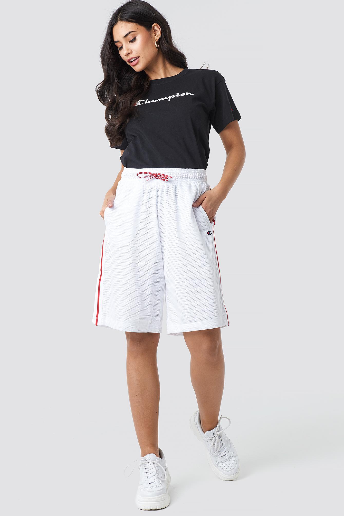 Champion Shorts 3/4 BERMUDA SHORTS - WHITE