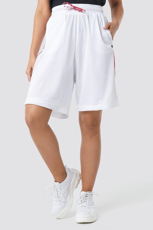 3/4 Bermuda Shorts White