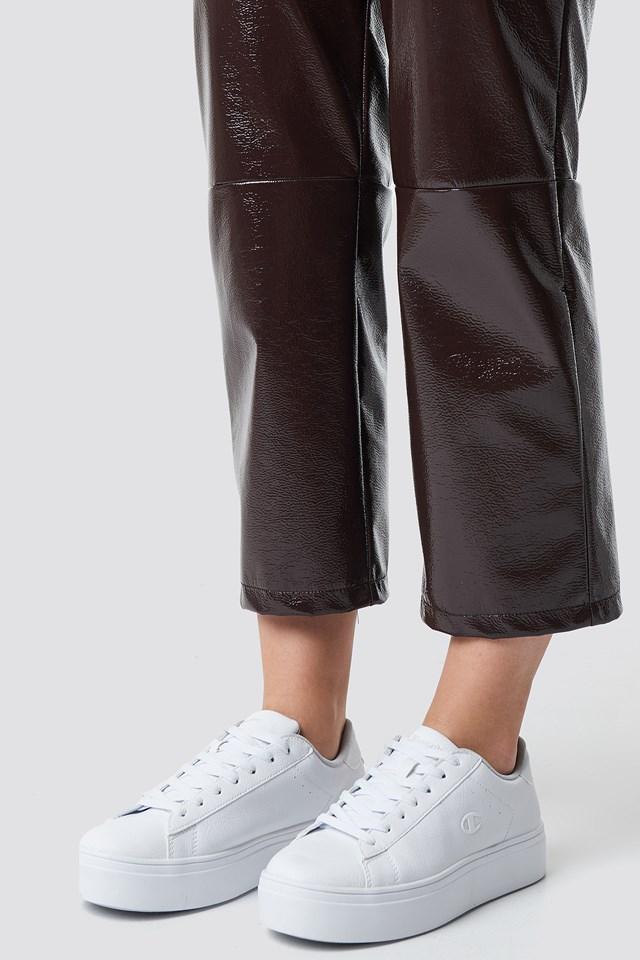 Alex Platform Sneakers White