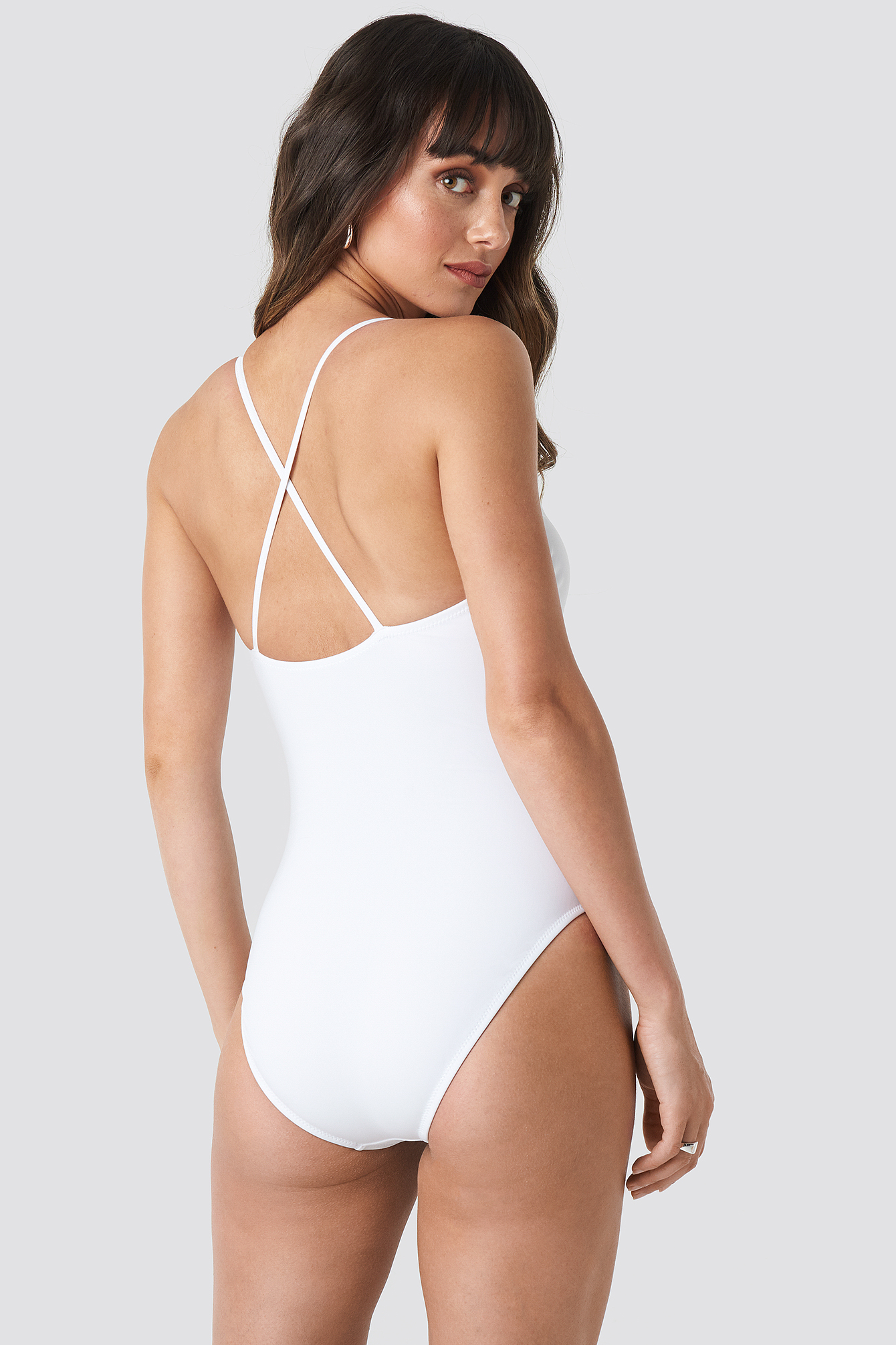 Back Cross Swimsuit NA-KD.COM