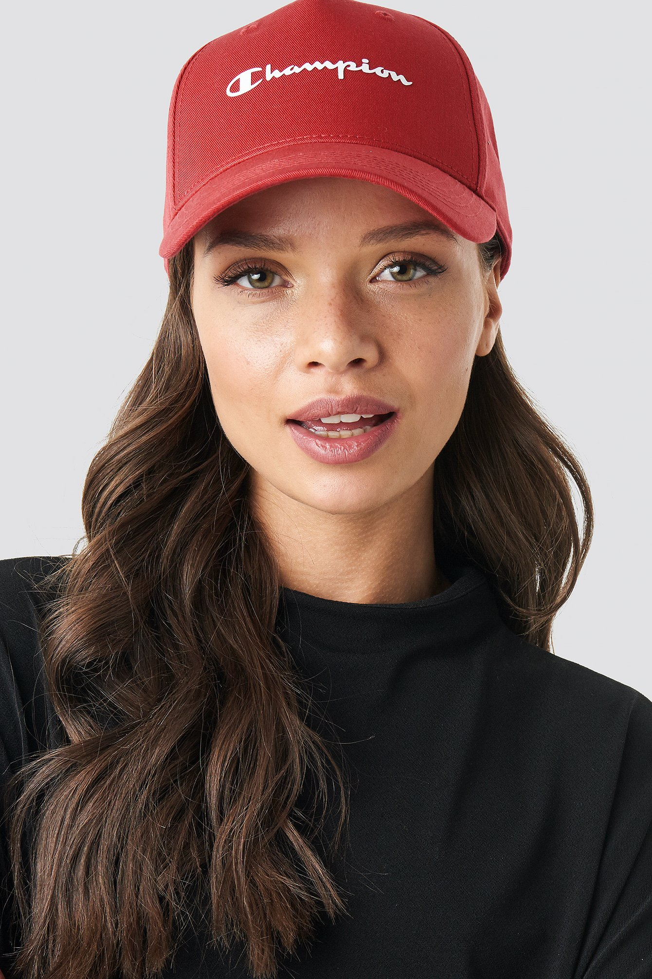 champion -  Baseball Cap - Red