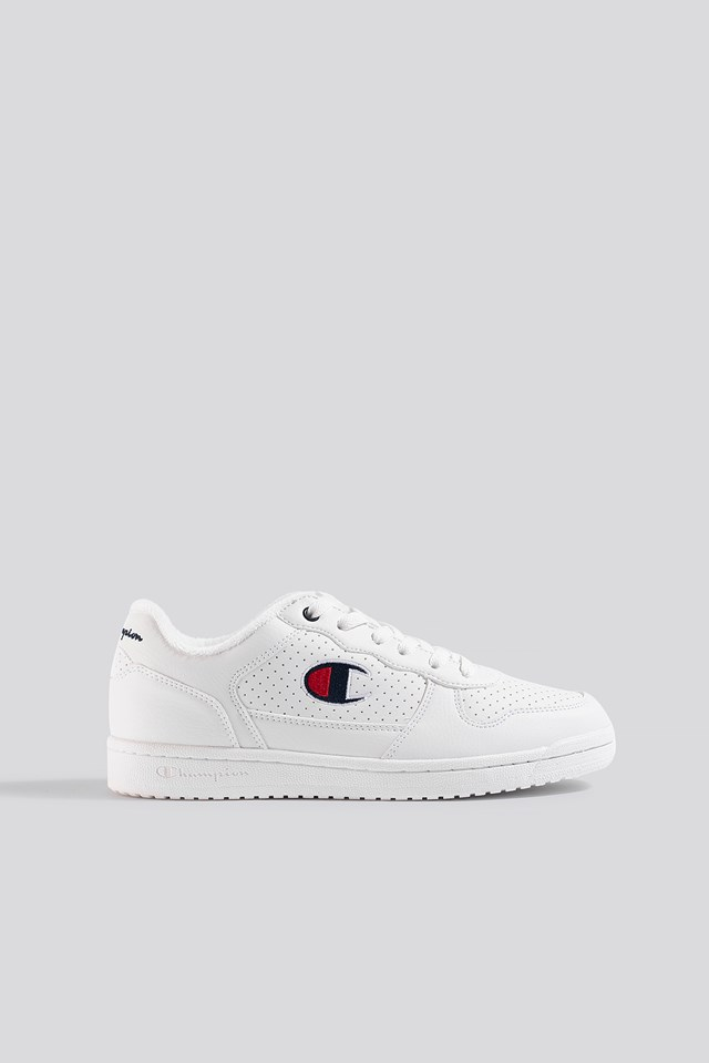 Chicago Low PU Low Cut Shoe White