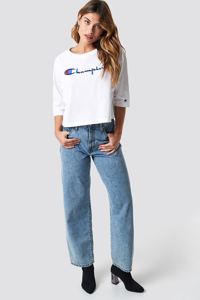 Classic Script T-Shirt White
