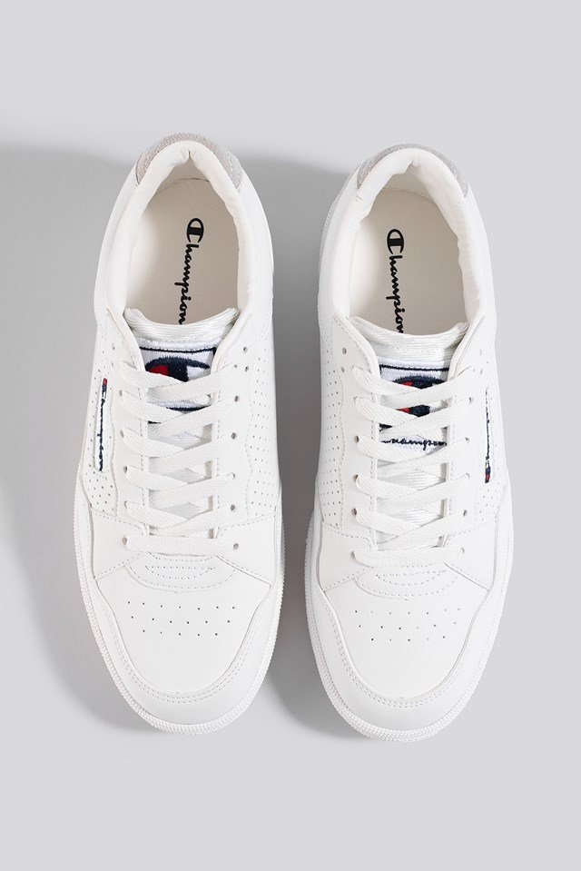 Cleveland Low Cut Shoe White