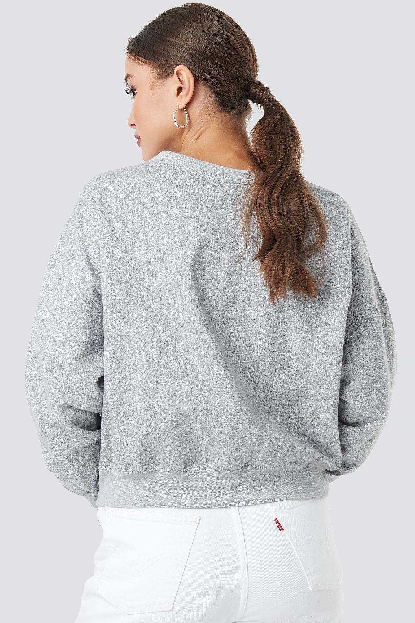 Crewneck Logo Sweatshirt NA-KD.COM