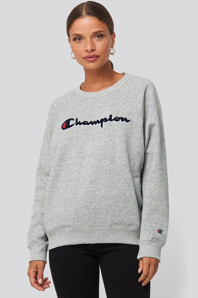 Crewneck Sweatshirt 111966 New Oxford Grey Melange