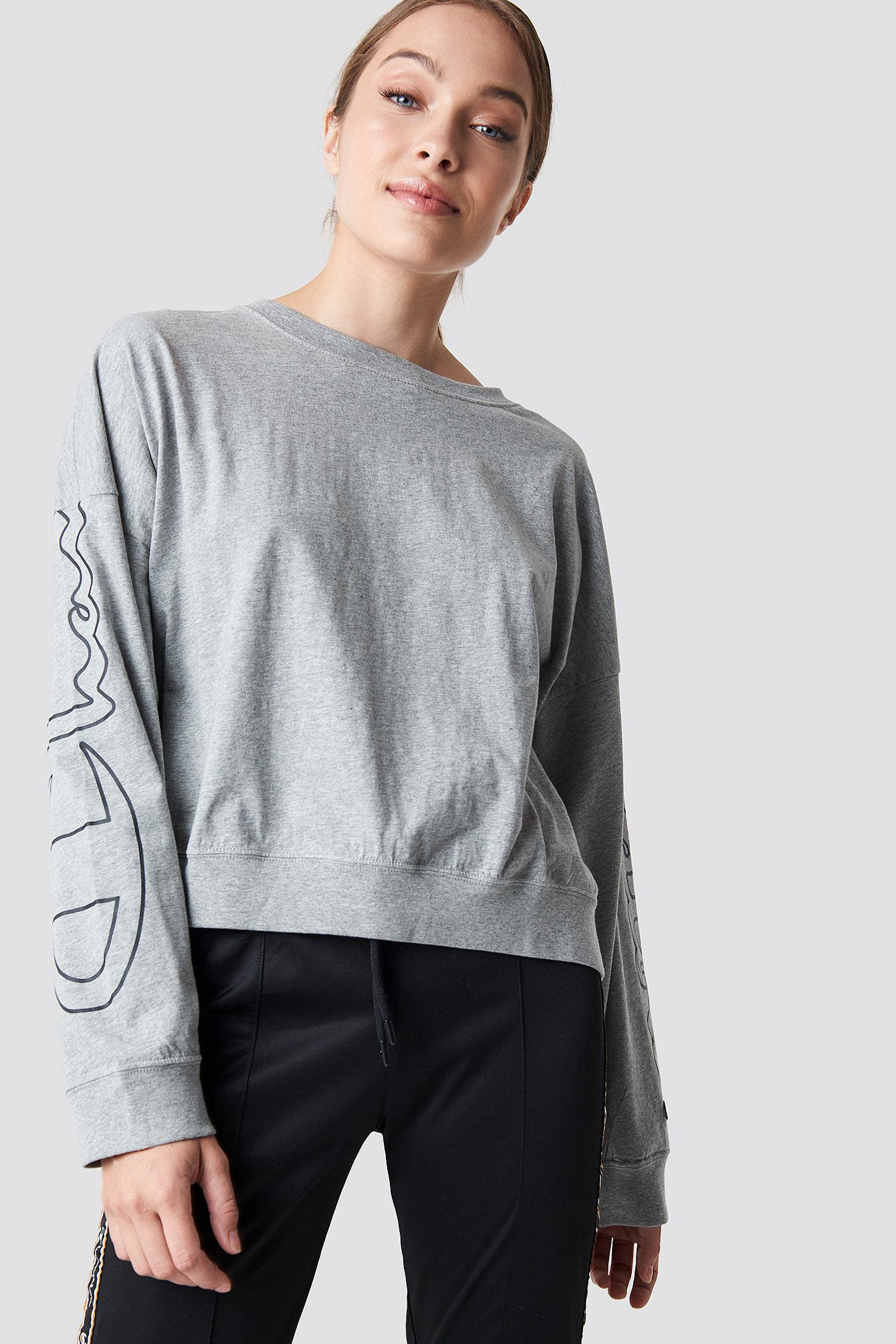 champion -  Crewneck T-Shirt 111234 - Grey