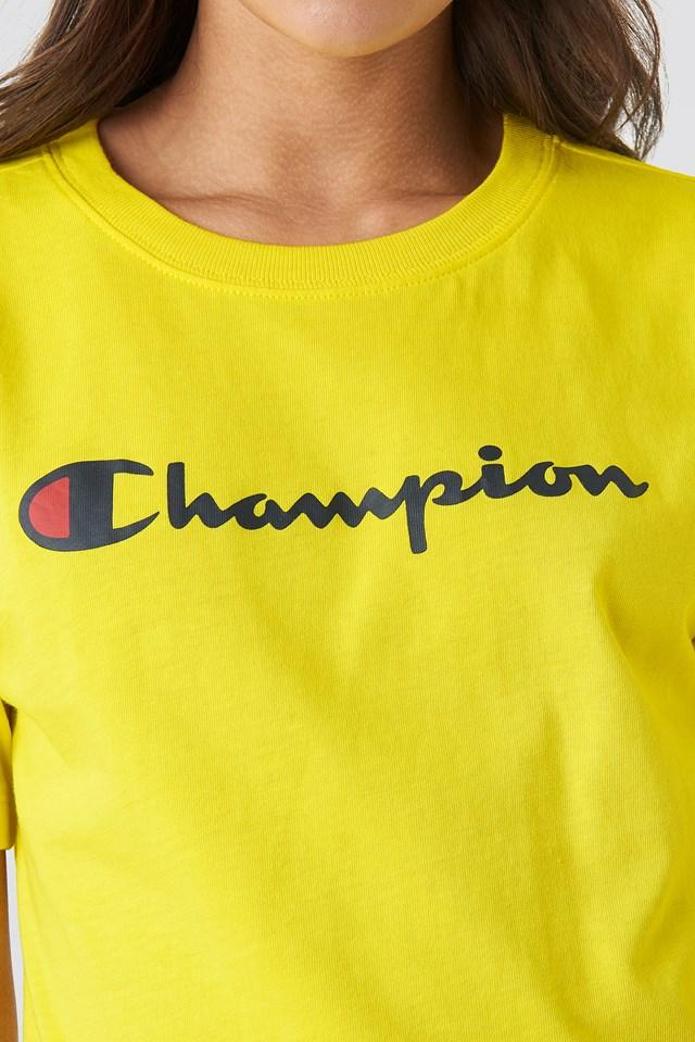 Crewneck Tee 111393 Blazing Yellow