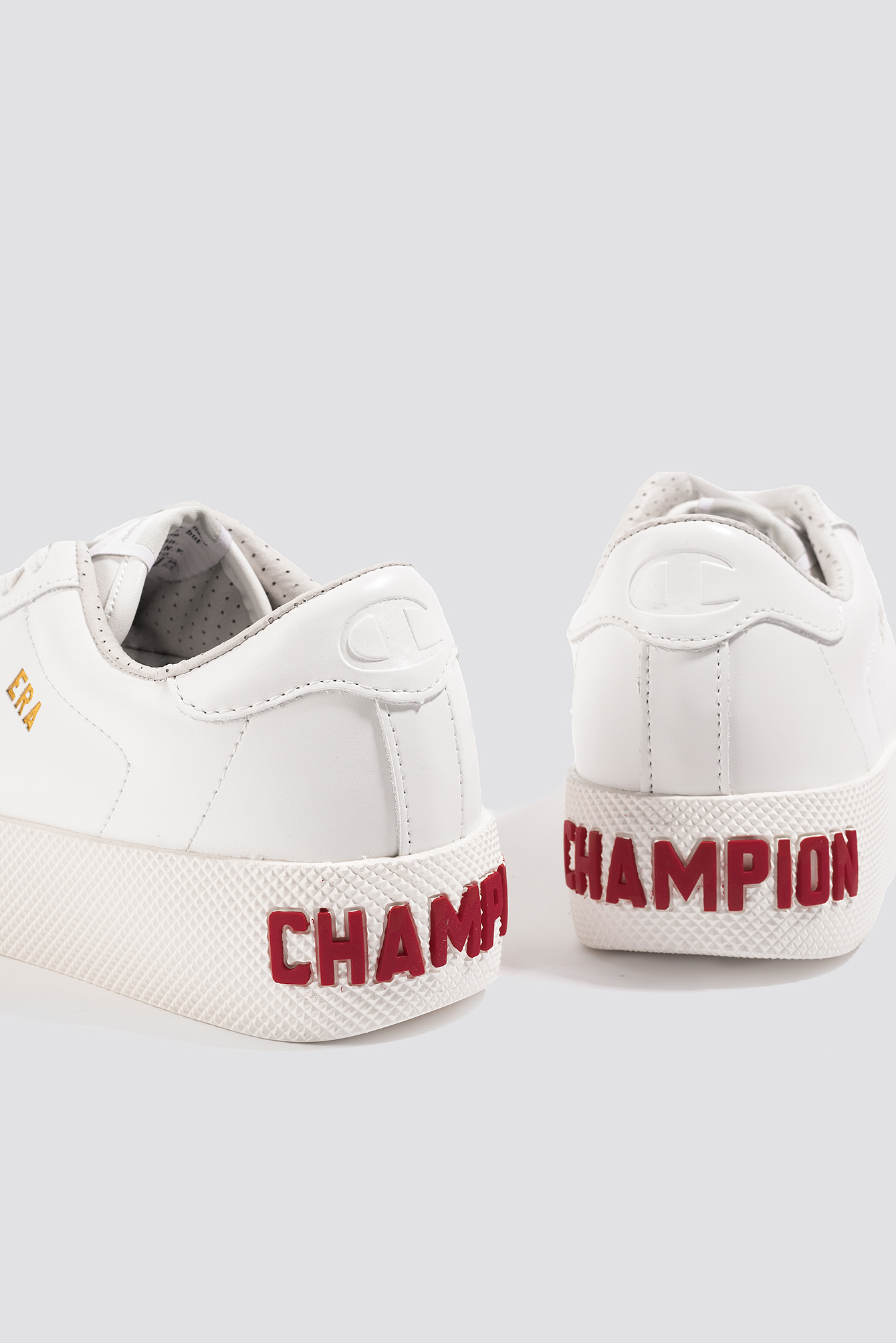 Champion Era Leather Sneaker - White EAdo7J
