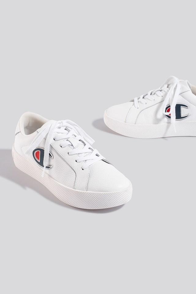 Era Low Cut Leather Sneaker White