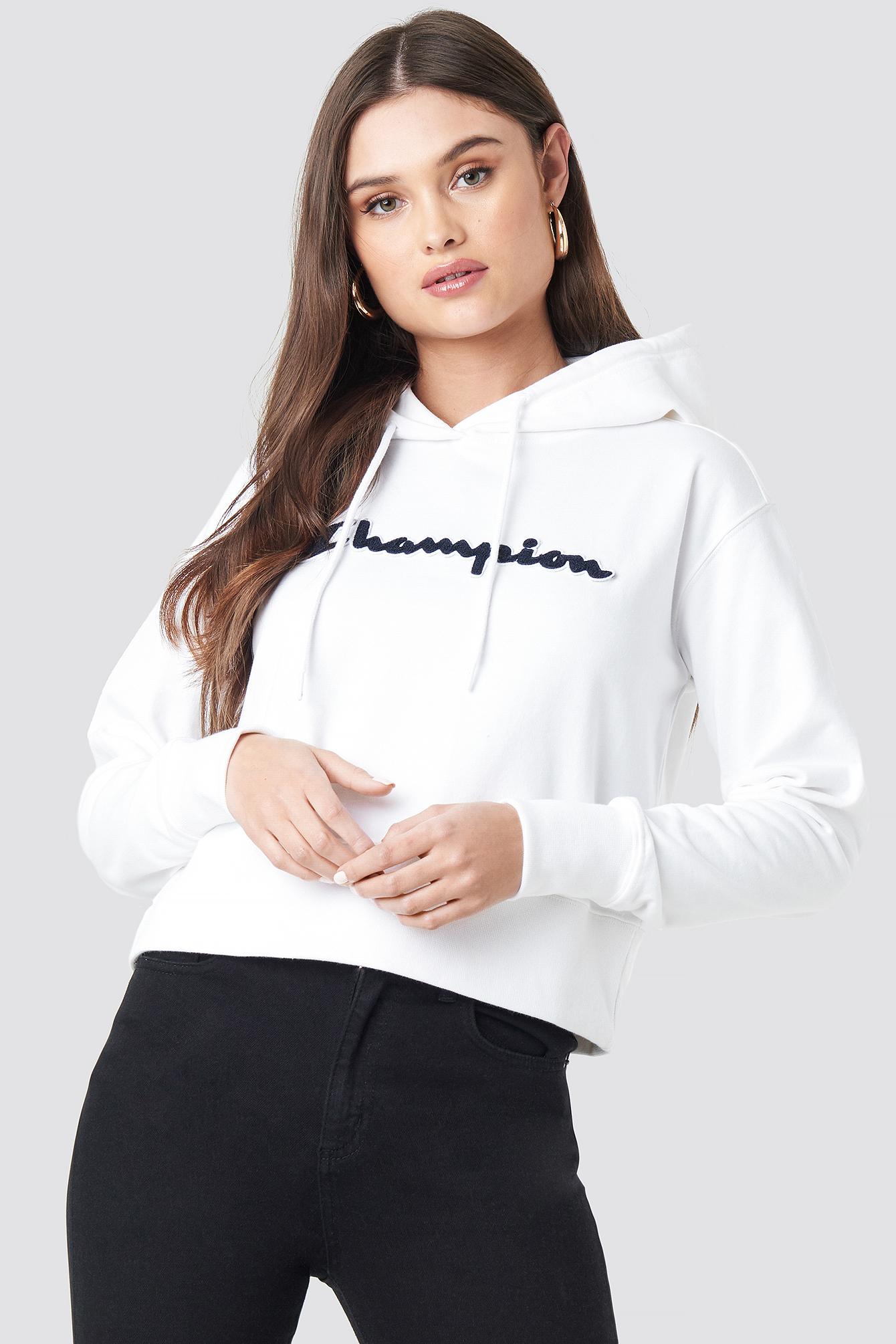 champion -  Hooded Sweatshirt 111850 - White