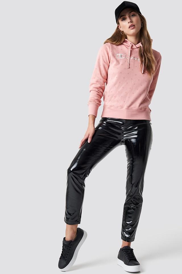 Hooded Sweatshirt Rose Tan