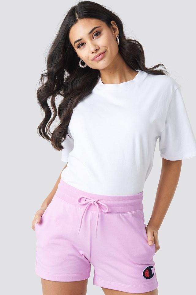 Logo Shorts Pink Lavender