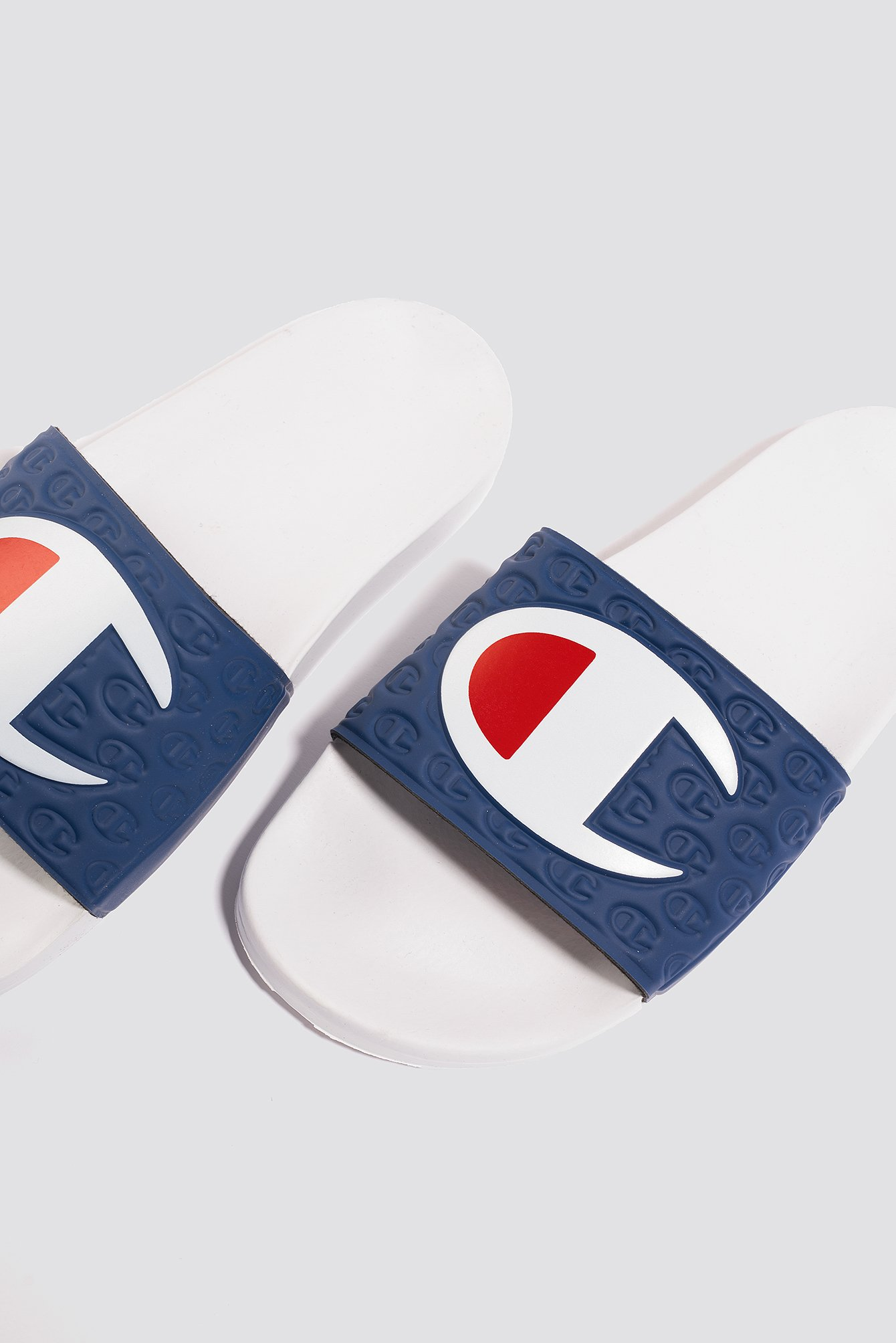 champion -  Multi-Lido Slide - White,Blue