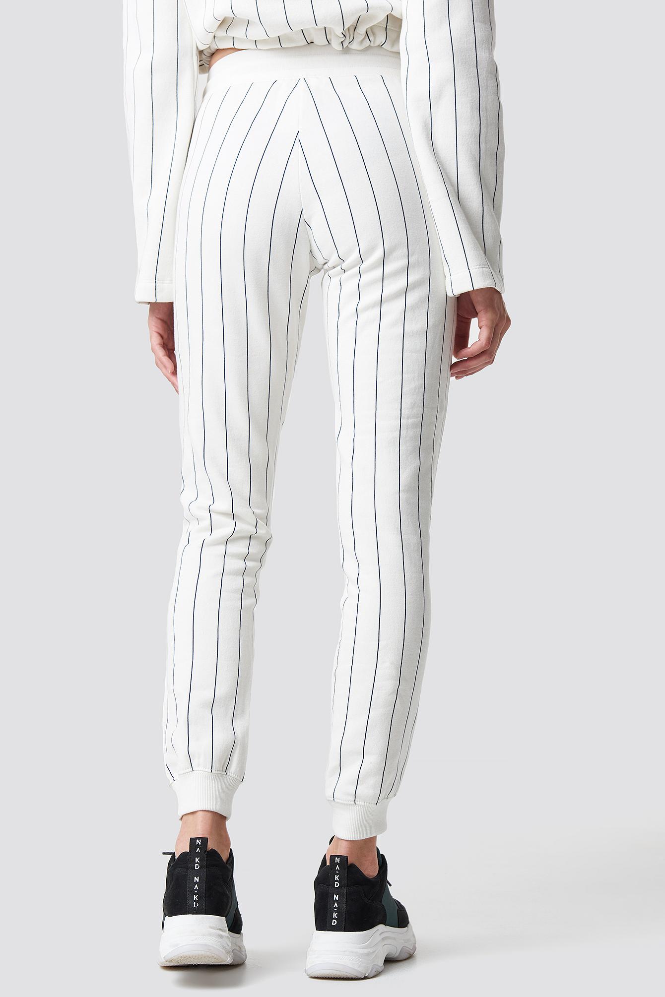 Rib Cuff Pants NA-KD.COM