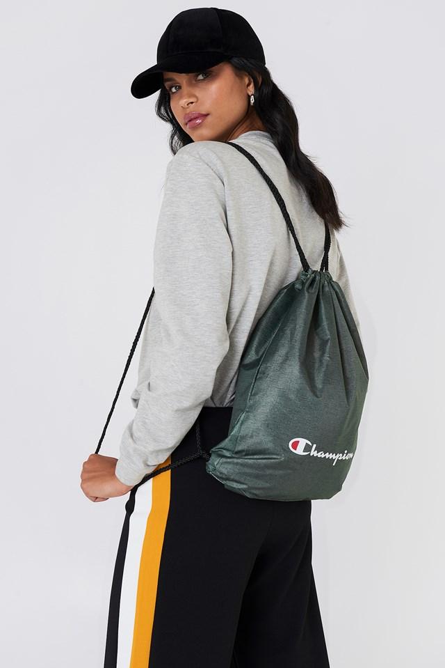 Satchel Bag Gray Melange Dark