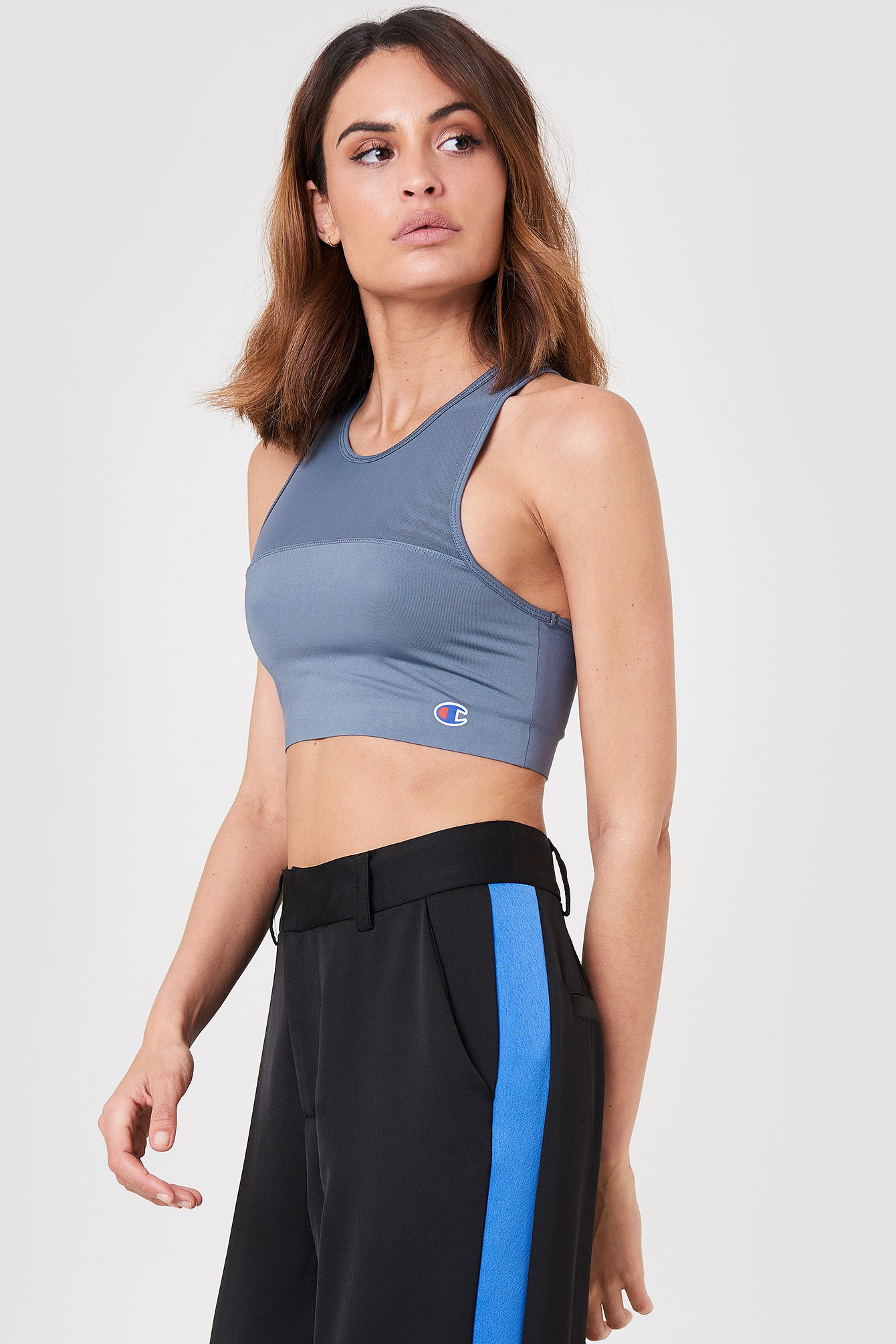 Champion Stretch Sports Bra - Grey