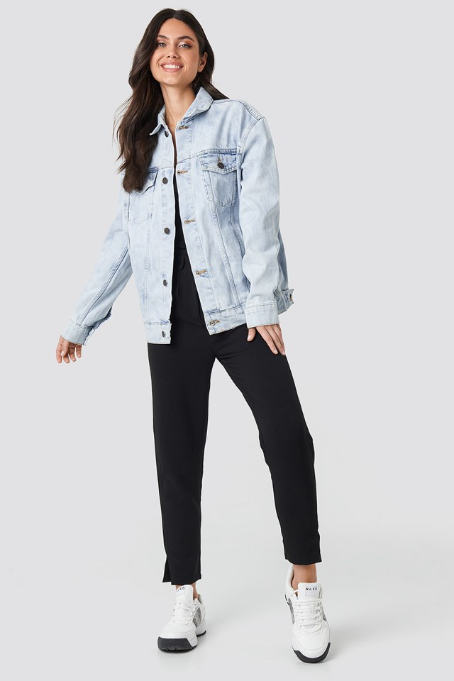 Upsize Jacket Blue Spider Blue