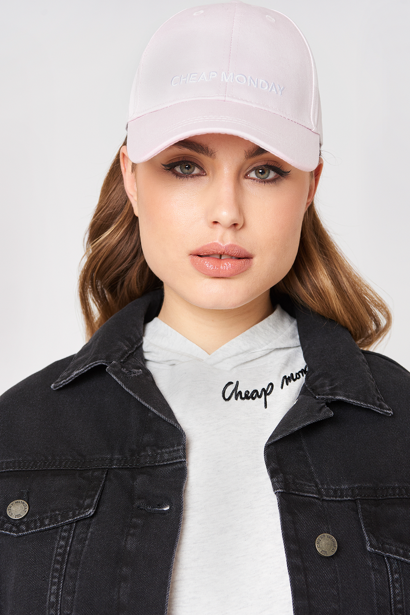 cheap monday -  CM Baseball Cap - Pink