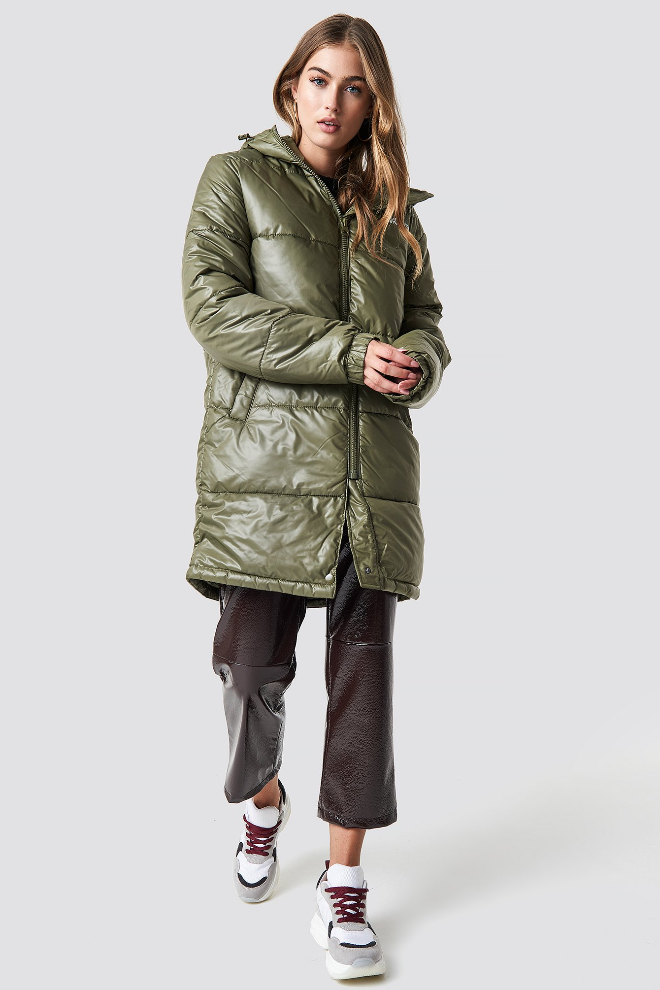 cheap monday -  Cocoon Jacket Small Echo - Green