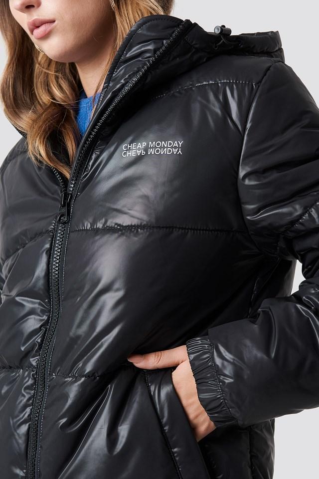 Cocoon Jacket Small Echo Black