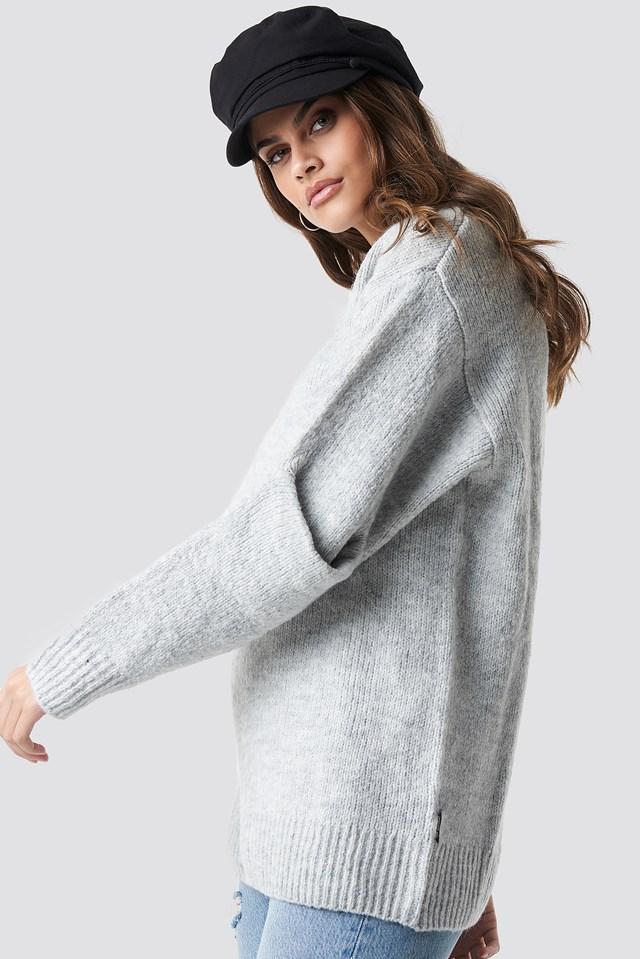 Device Knit Grey Melange