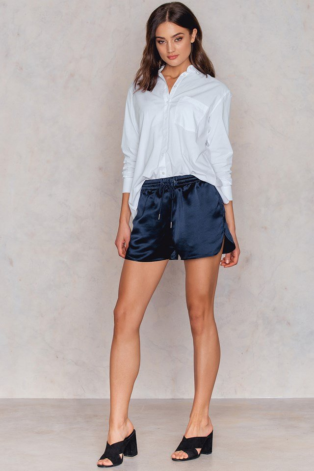 Direct Poplin Shirt White