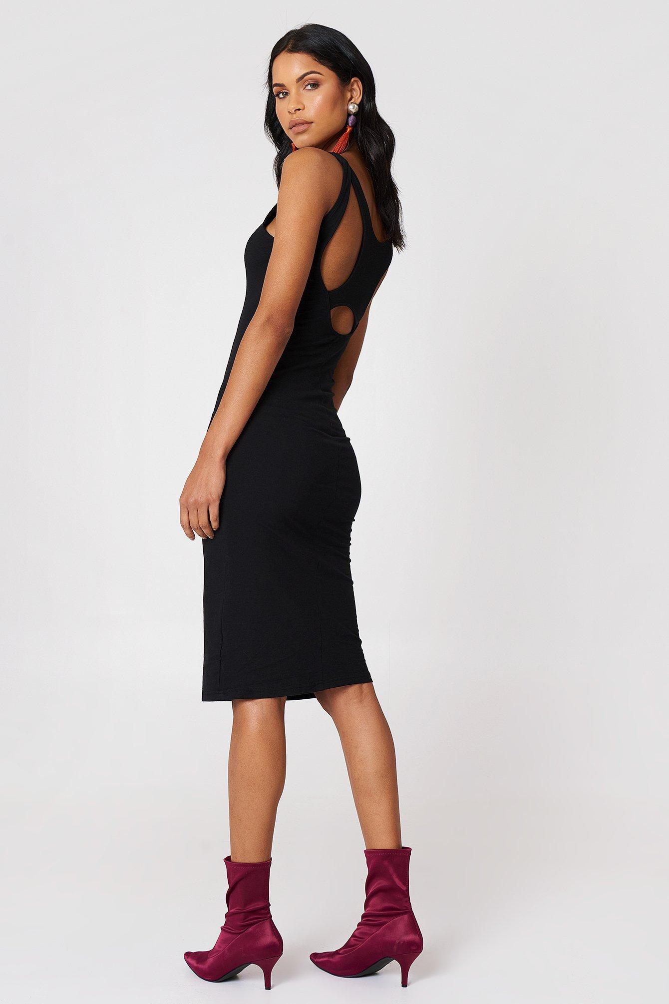 DIVE DRESS - BLACK