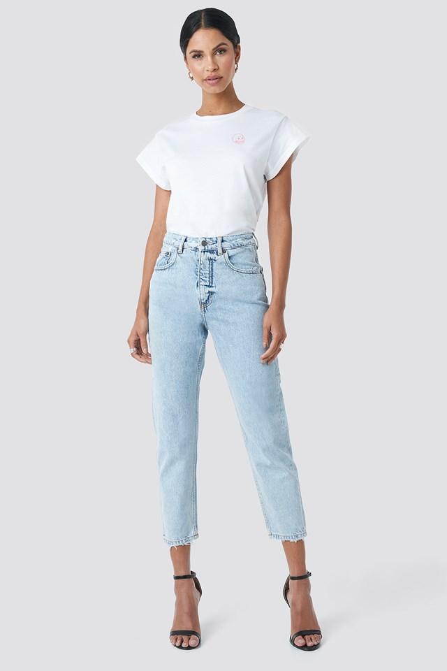 Donna Air Blue Jeans Air Blue