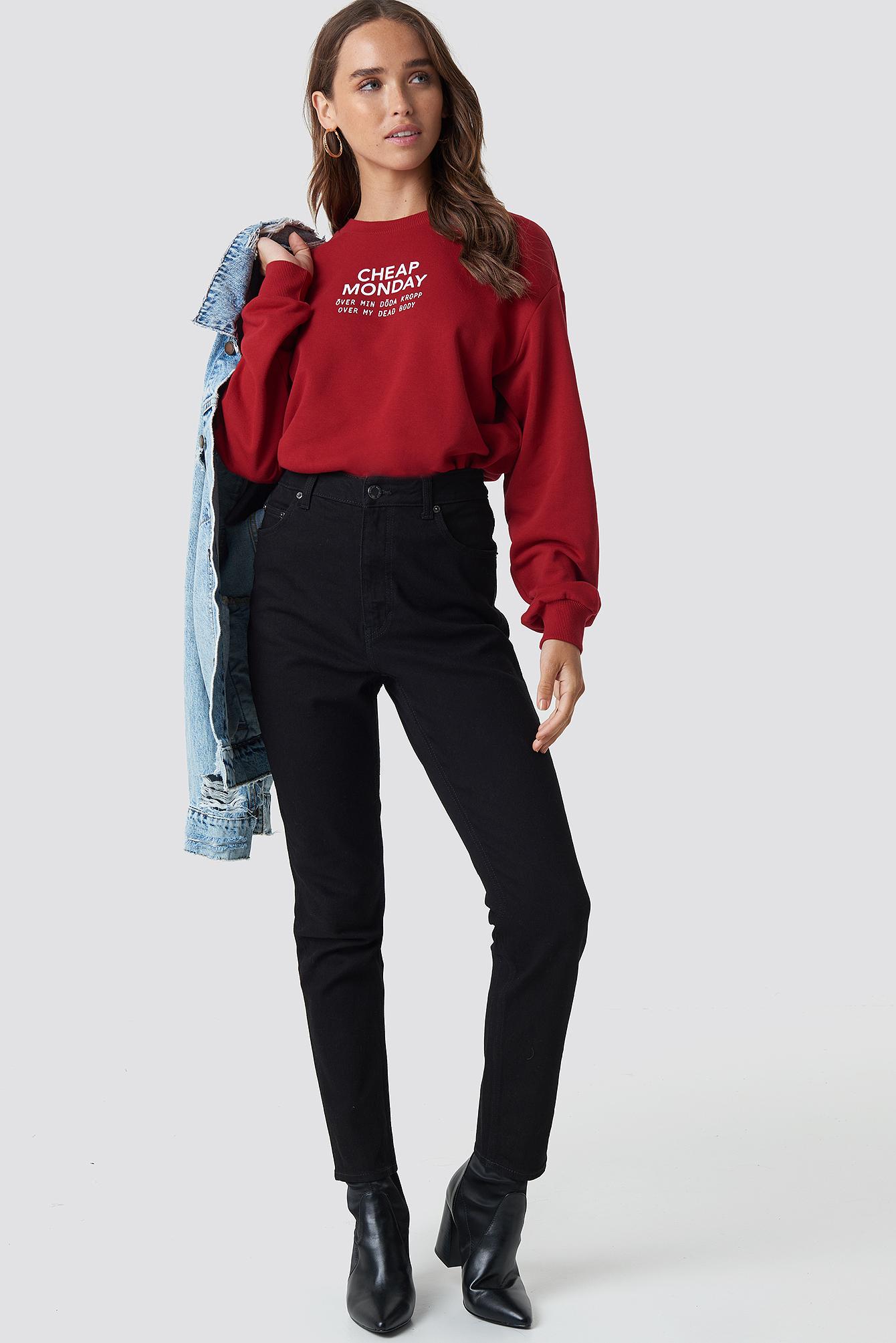 Donna Deep Black Jeans NA-KD.COM
