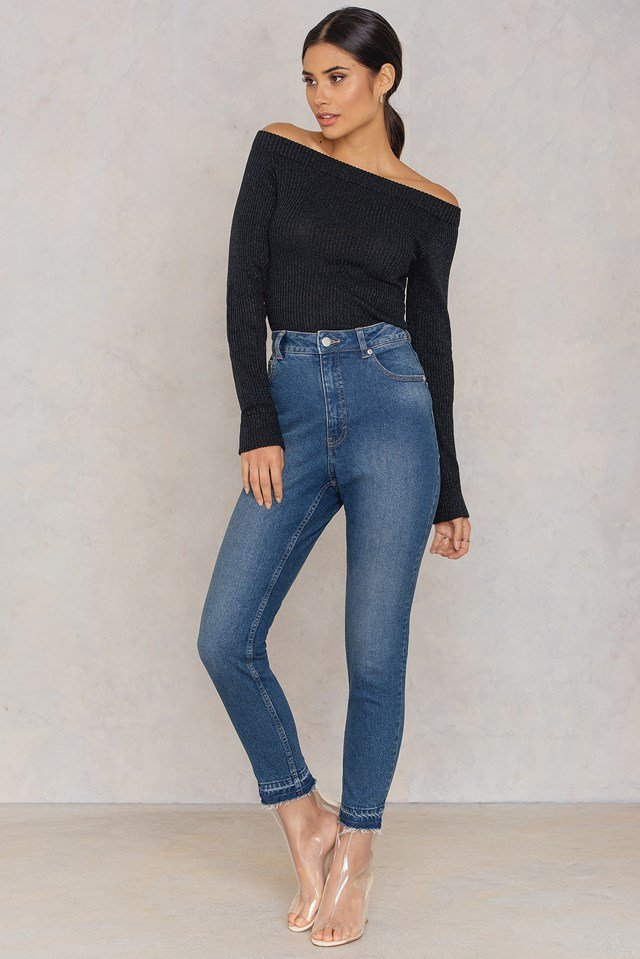 Donna Domestic Blue Jeans Domestic Blue