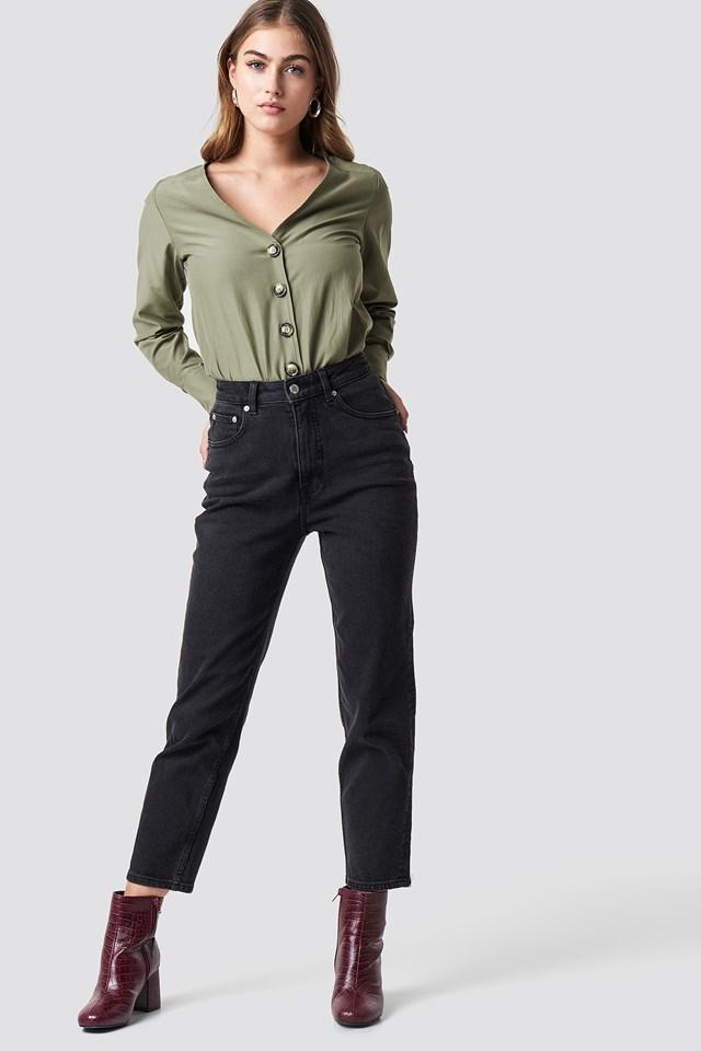 Donna Friday Black Jeans NA-KD.COM