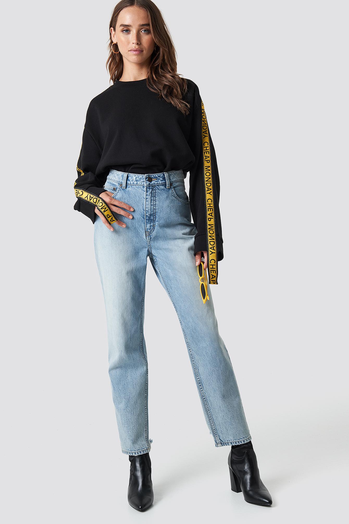 Donna Trash Metal Jeans NA-KD.COM