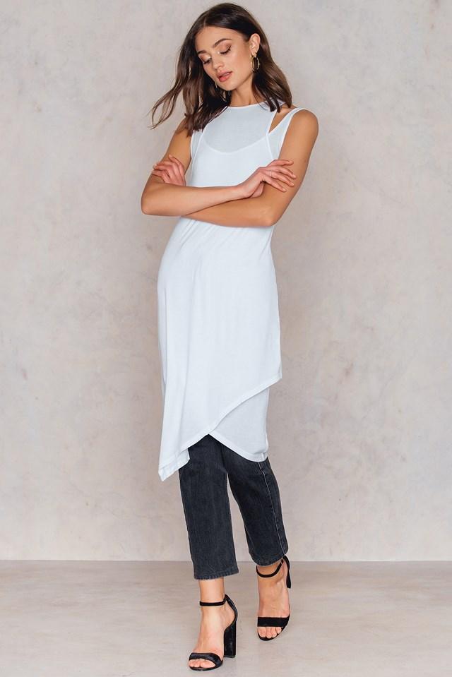 Freer Dress White
