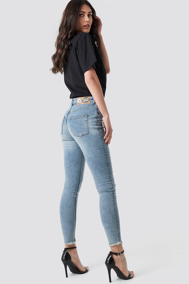 High Spray Hex Blue Jeans Blue
