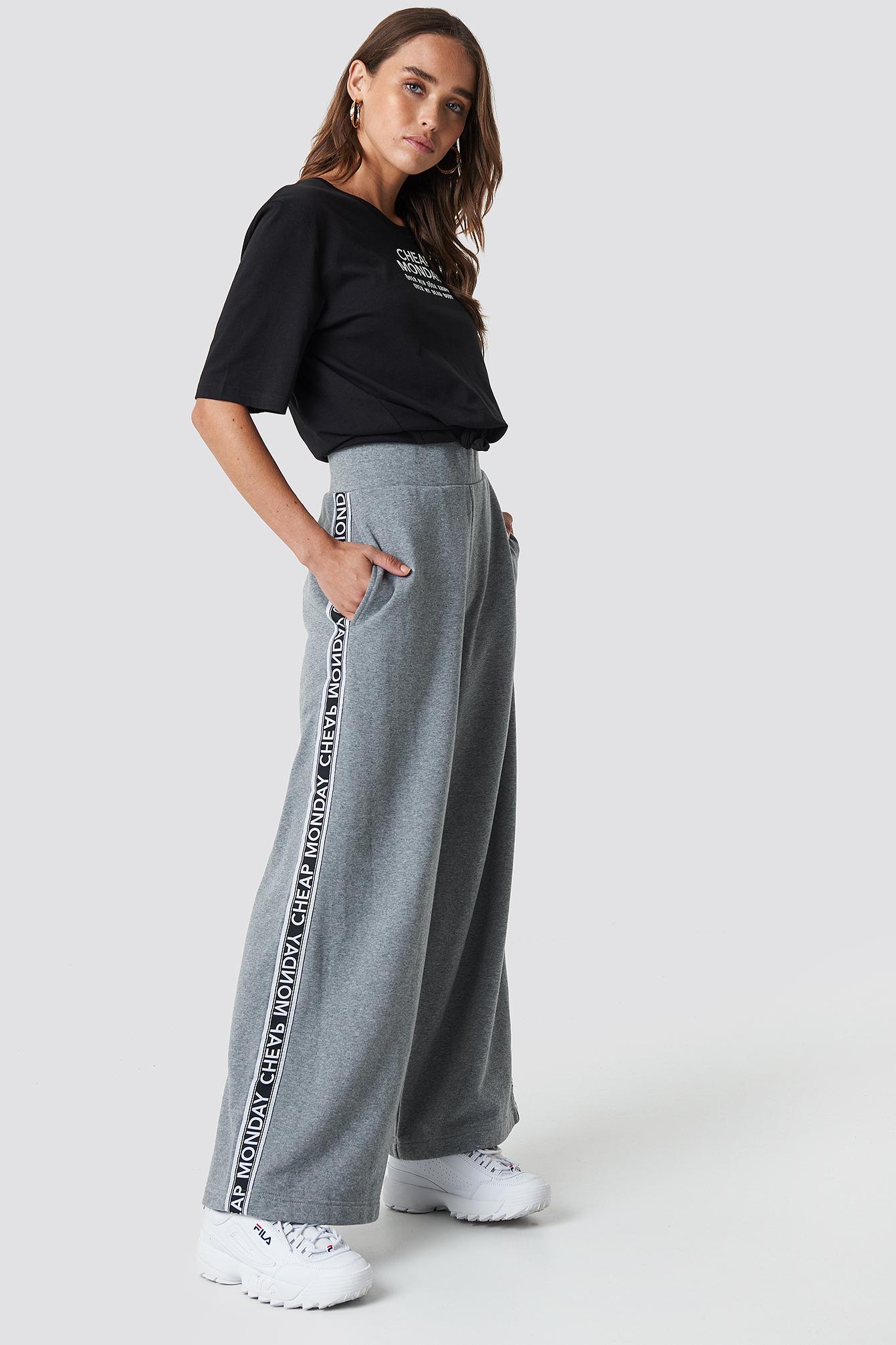 cheap monday -  Margin Trousers - Grey