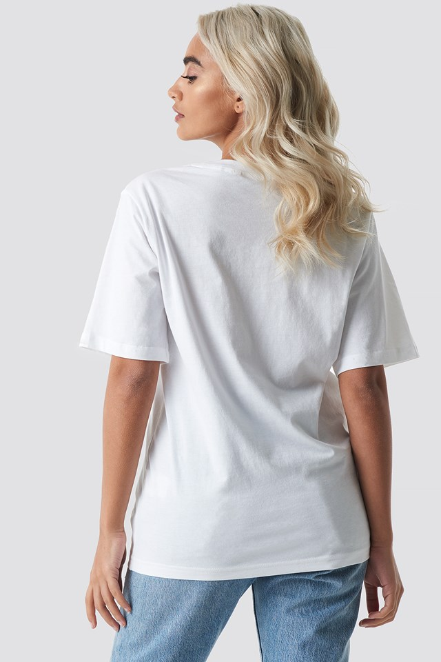 Perfect Tee Chp Mnd Logo White