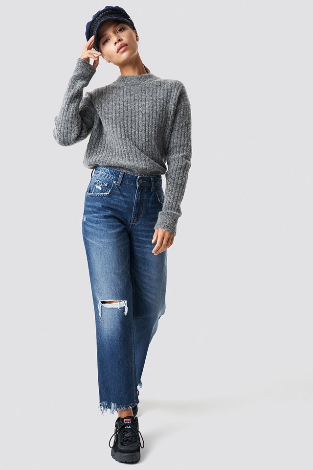Revive Blue Oxide Jeans Blue