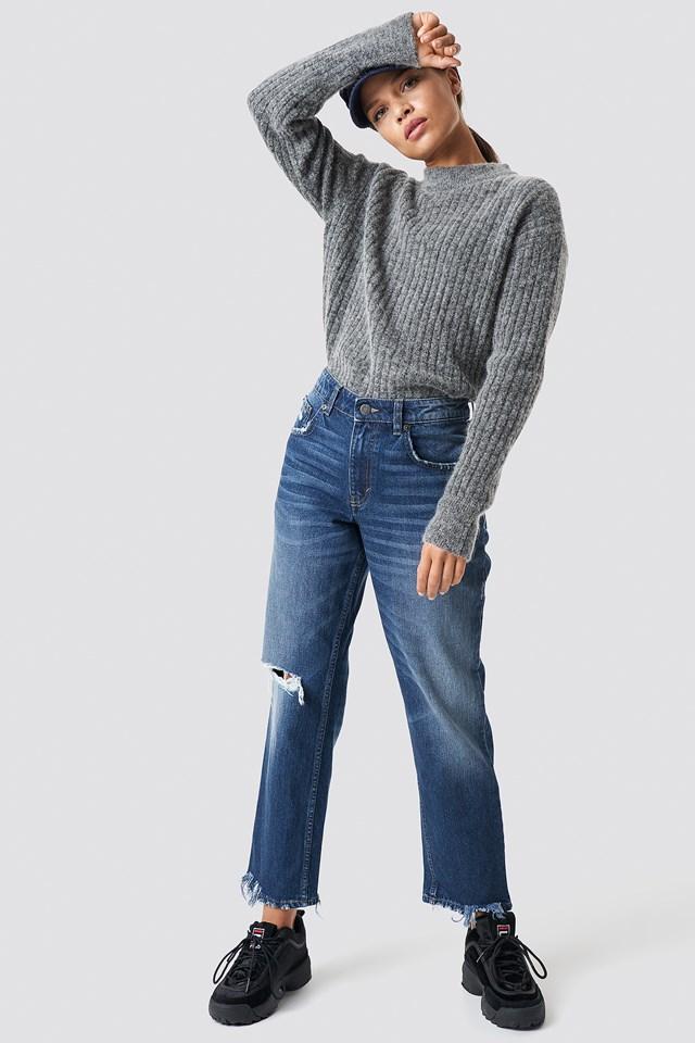 Revive Blue Oxide Jeans Blue