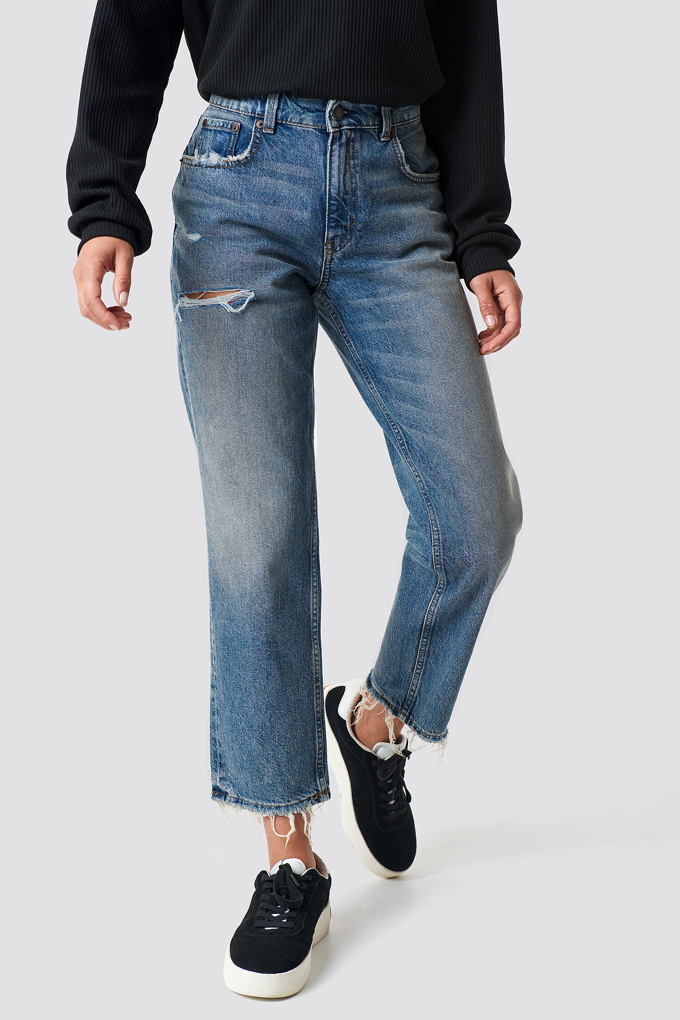 Revive Decay Jeans NA-KD.COM