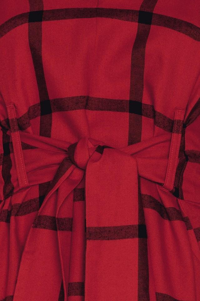 Rizzle Check Dress NA-KD.COM