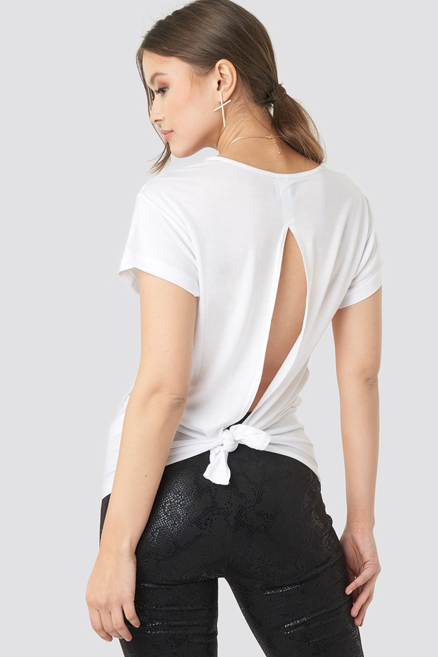 Screen Knot Top White