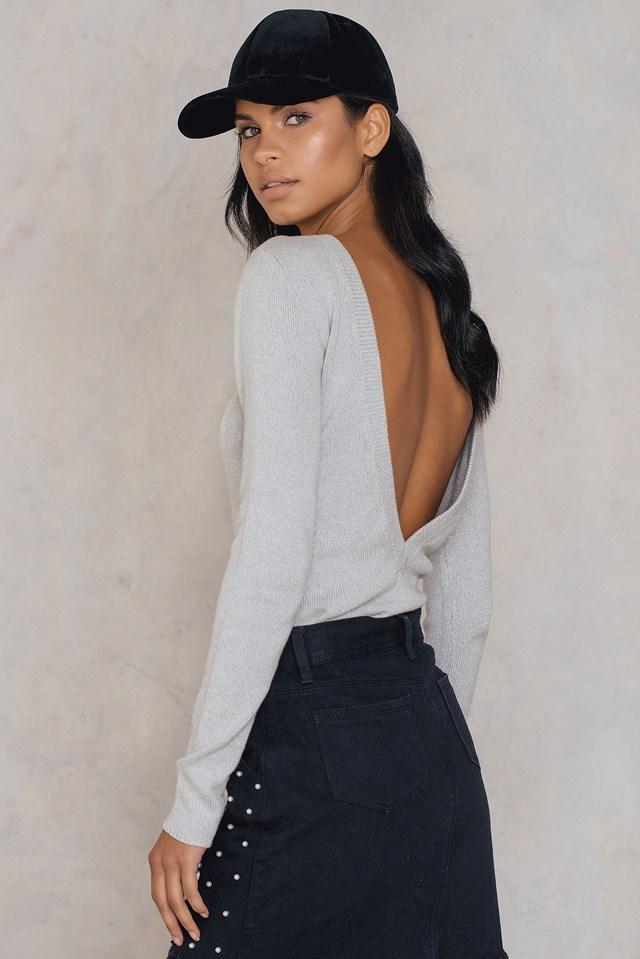Seen Knit Grey Melange