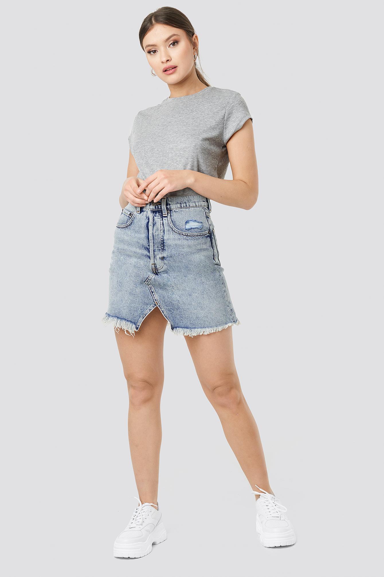 Shrunken Skirt NA-KD.COM