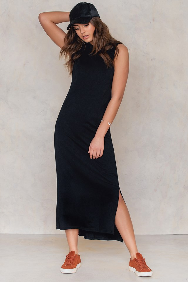 Twine Dress Black