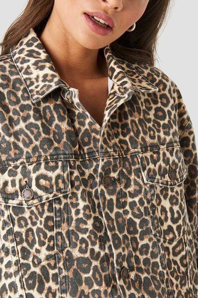 Upsize Jacket Cheeta Leopard