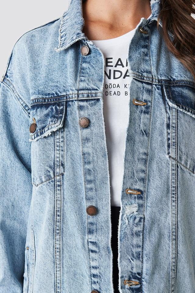 Upsize Jacket Trash Metal Jacket Blue