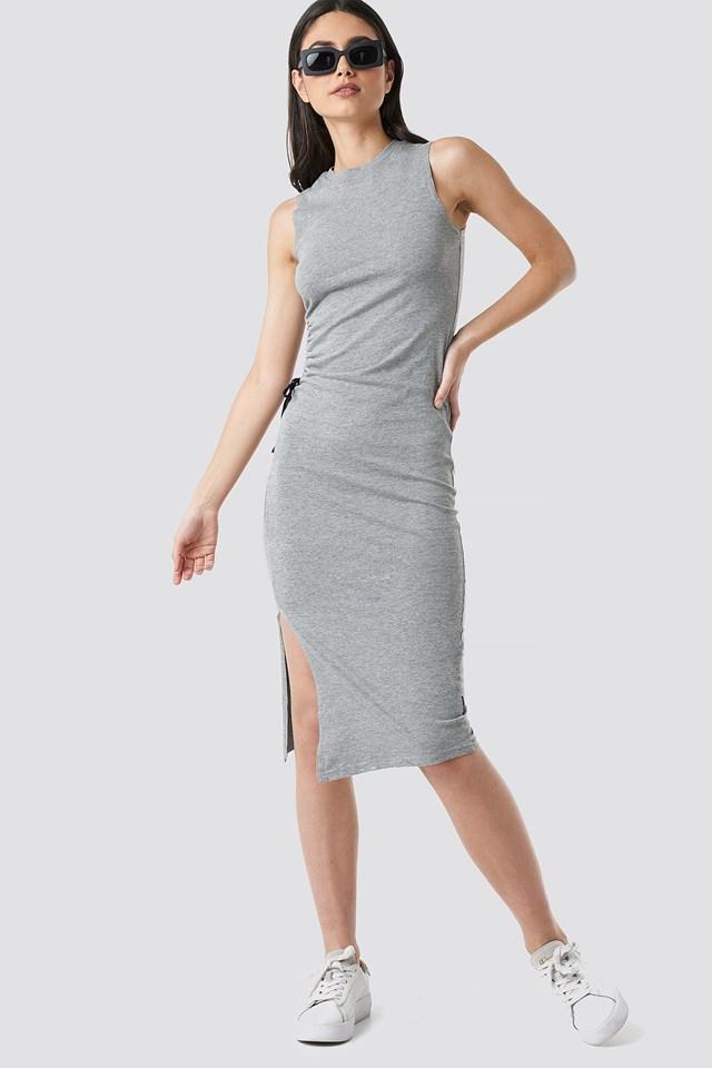 Yell Dress Grey Mel
