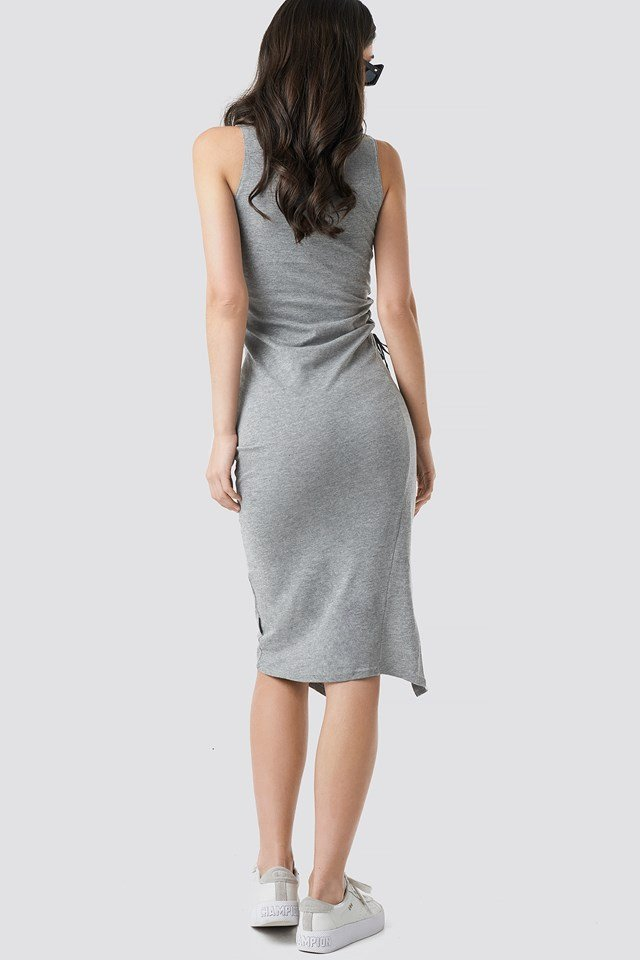Yell Dress Grey Mel